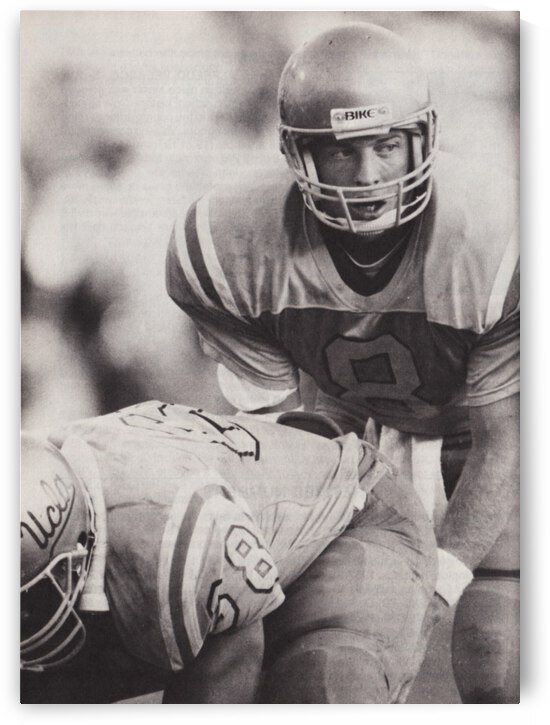 1987 Troy Aikman Poster by Row One Brand