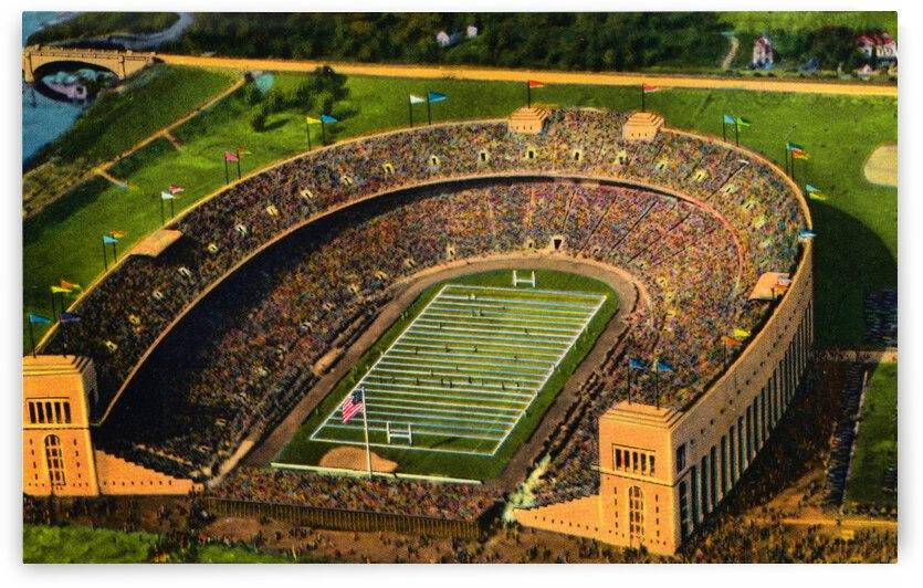 Vintage Forties Ohio Stadium by Row One Brand