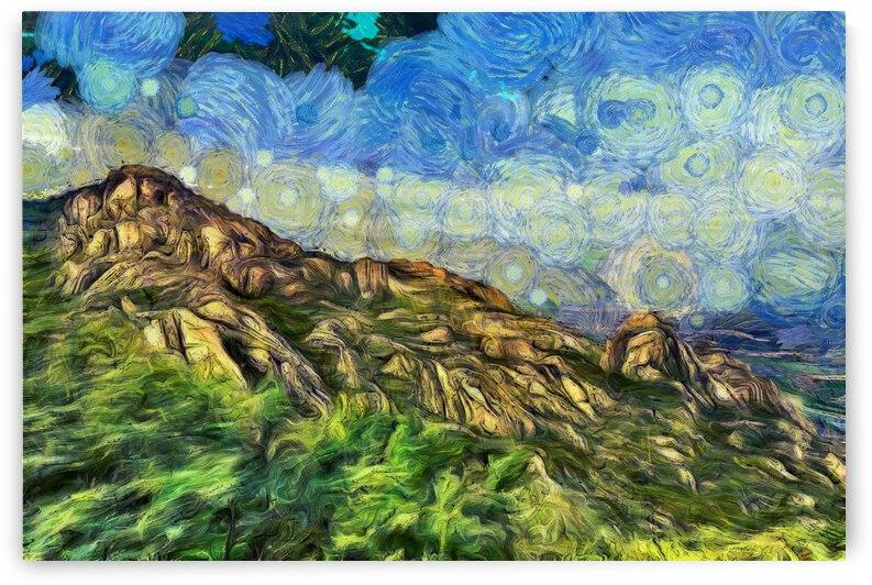 Qingdao oil painting inVincent Willem van Goghstyle. 46.   by ArtEastWest