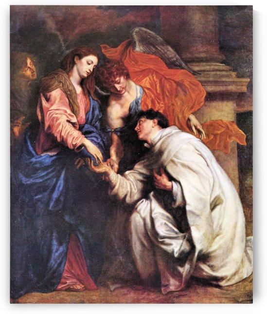 Vision of Hermann Joseph by Van Dyck by Van Dyck