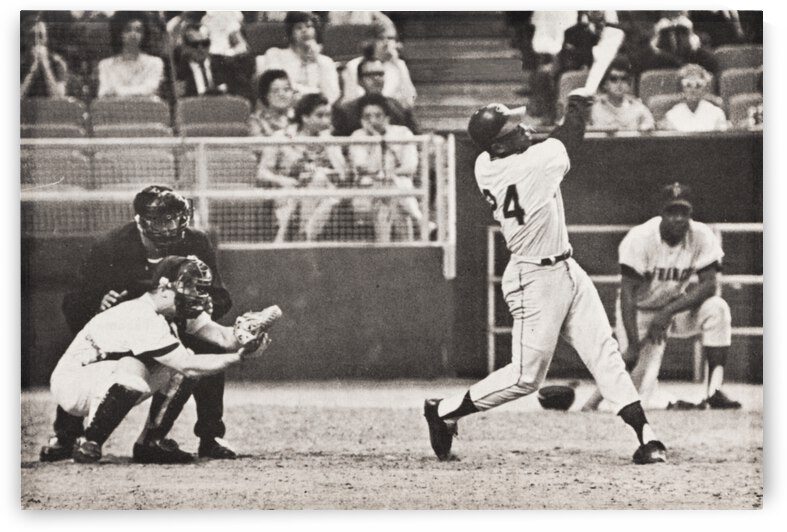 Willie Mays Home Run 500 by Row One Brand