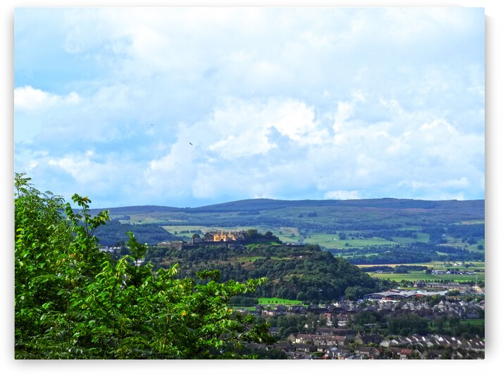 Beautiful View to Stirling Castle in the United Kingdom by 360 Studios