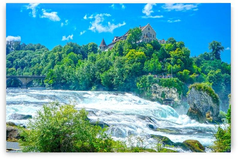 Perfect Day at Rhine Falls Switzerland by 360 Studios
