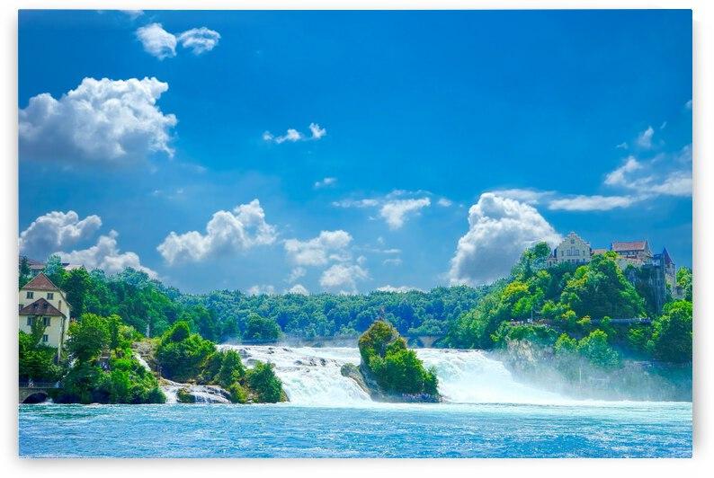 Beautiful Day at Rheinfall Switzerland 2 of 2 by 24