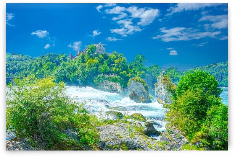 Beautiful Day at Rheinfall Switzerland 1 of 2 by 24