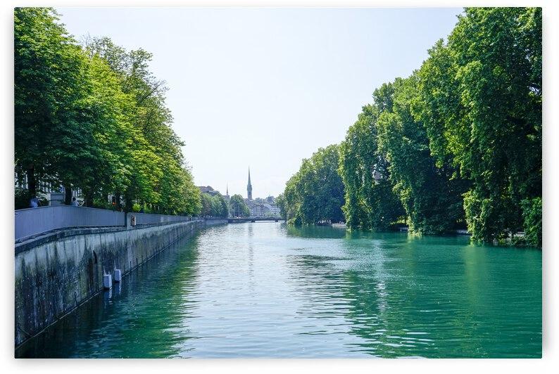 Snapshot in Time Zurich in Summer 1 of 6 by 24