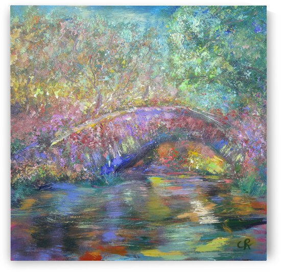 Boulder Creek Path Bridge by Chris Rutledge