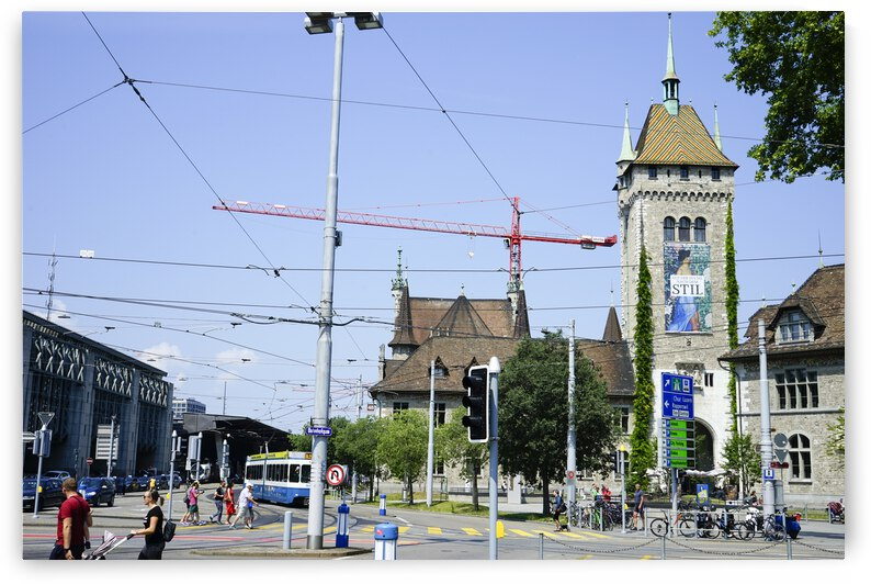 Snapshot in Time Zurich in Summer 2 of 6 by 24