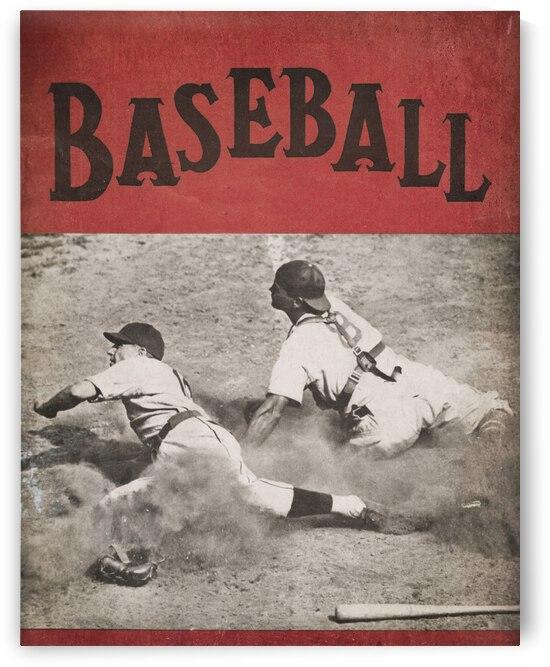 Vintage Baseball Art 1939 by Row One Brand