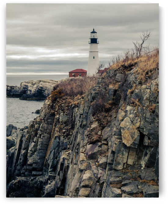 Portland Head Light 4 by Dave Therrien