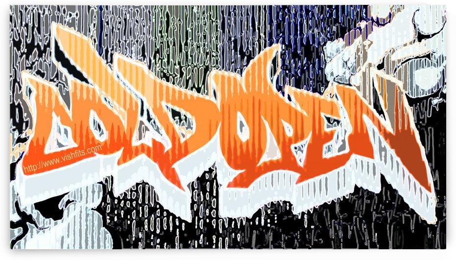 Grafik Graffiti by vishfits