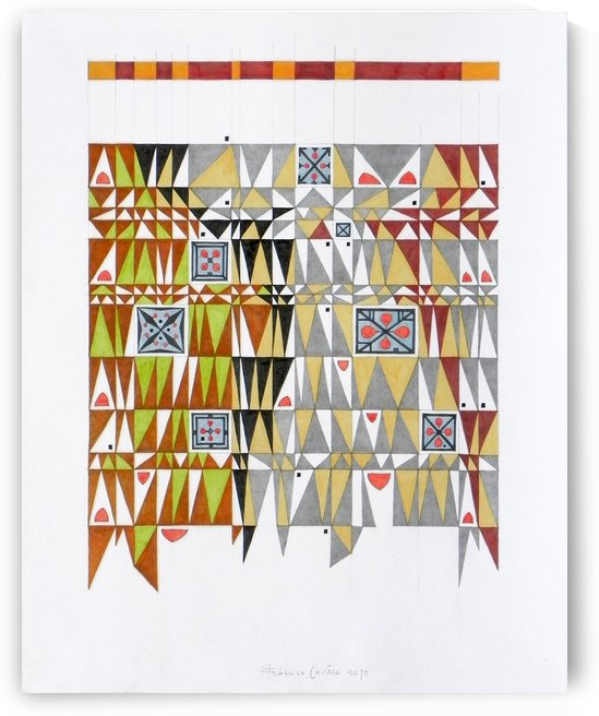 tetris number 6 by federicocortese