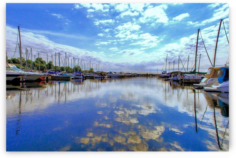 Port Dover  marina by Tracy Bennett