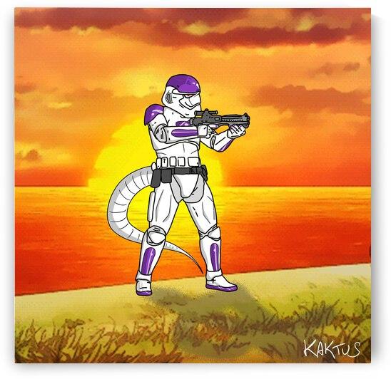 Stormtrooper en Freeza by Kaktus Art