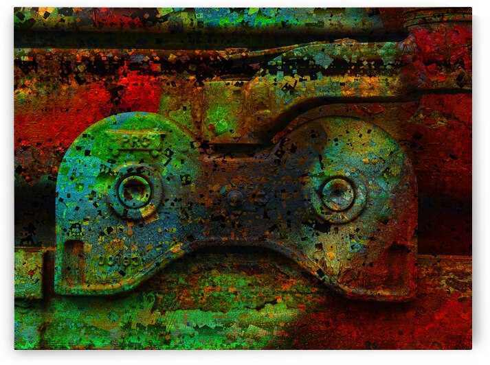 Textura Kolo  4  by Jean-Francois Dupuis