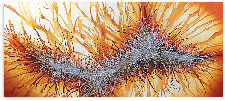 Abstract Art Britto - QB085 by SIDINEI BRITO