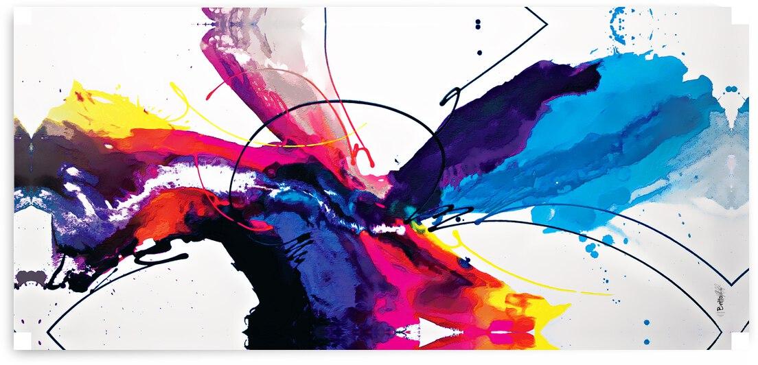 Abstract Art Britto - QB234 by SIDINEI BRITO