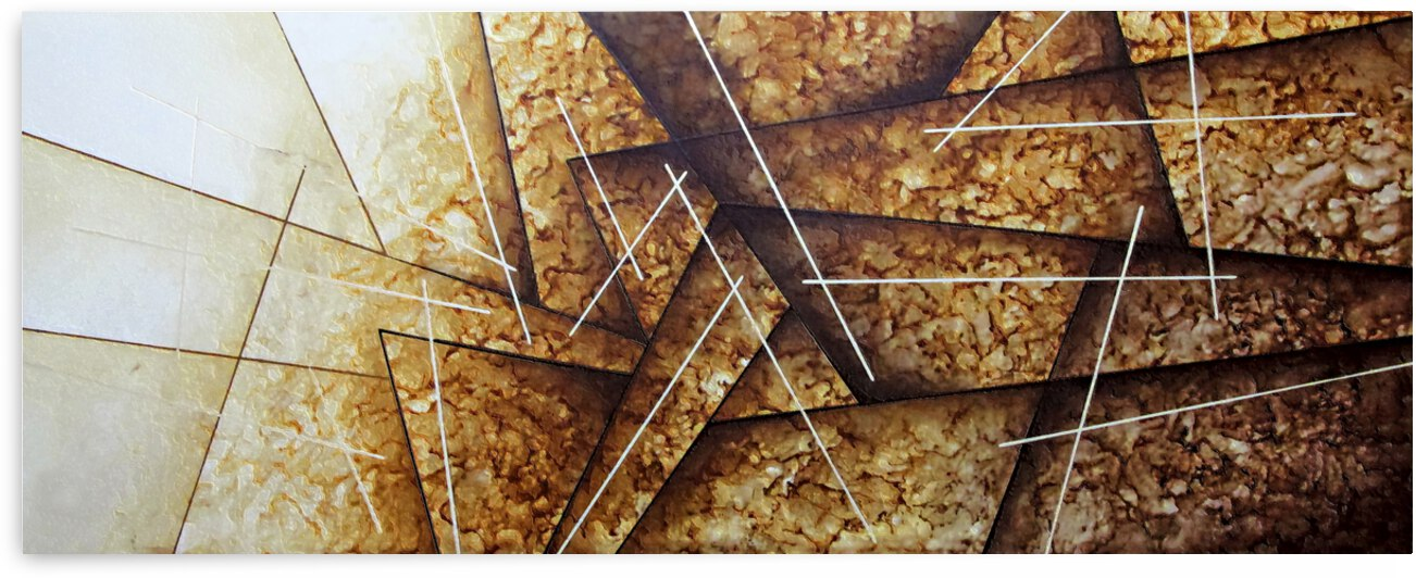 Abstract Art Britto - QB240 by SIDINEI BRITO