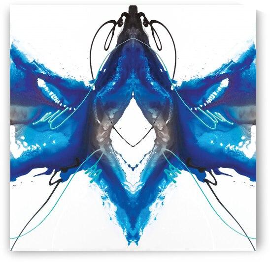 Abstract Art Britto - QB242 by SIDINEI BRITO