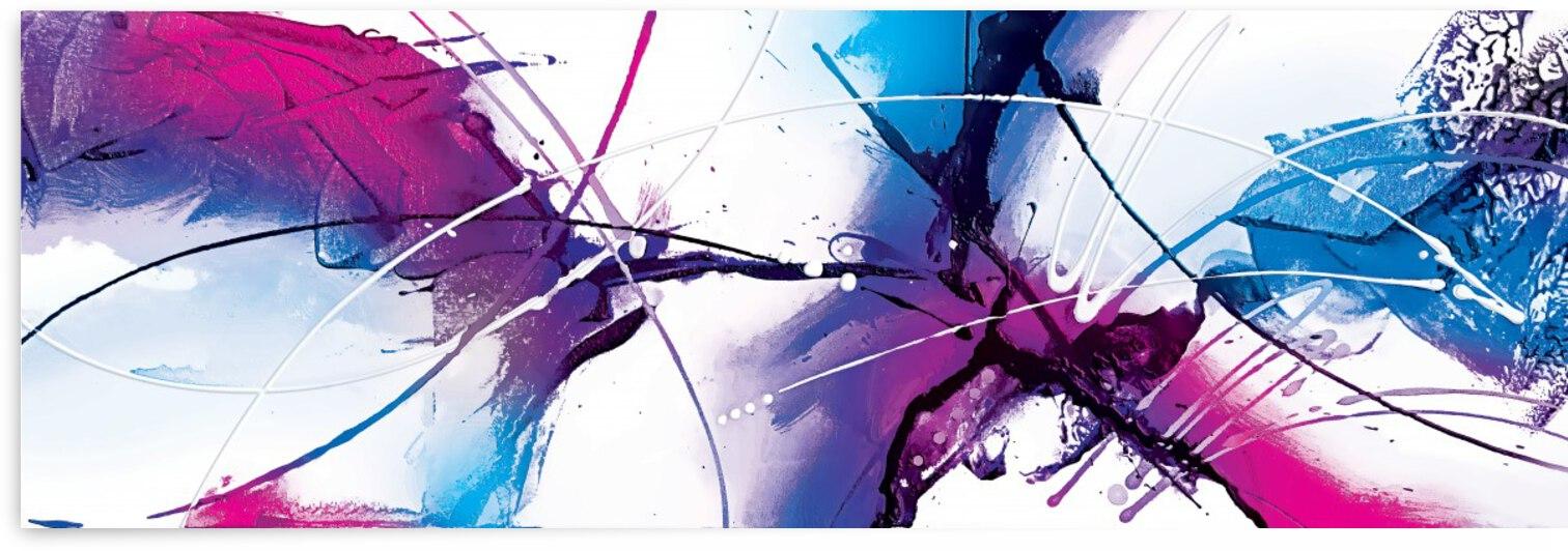 Abstract Art Britto - QB248 by SIDINEI BRITO