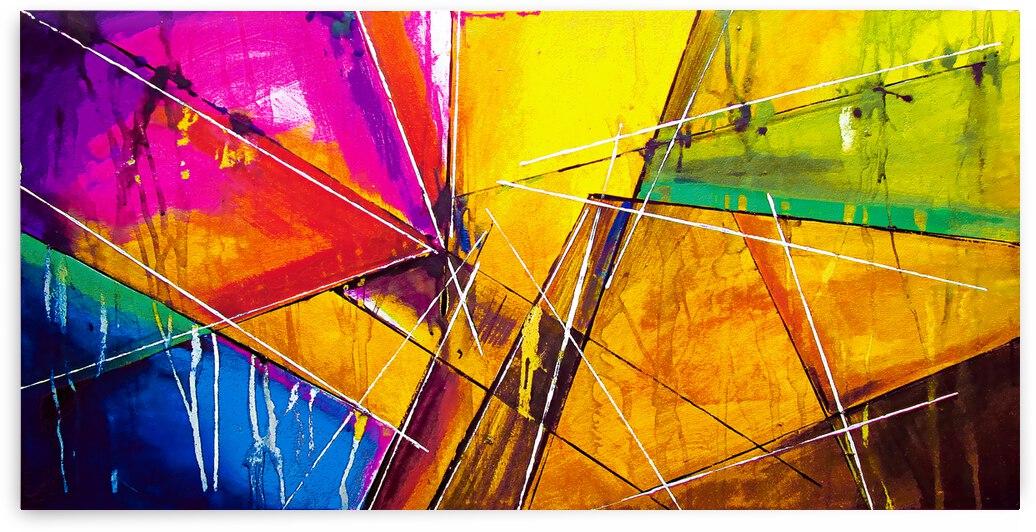 Abstract Art Britto - QB255 by SIDINEI BRITO