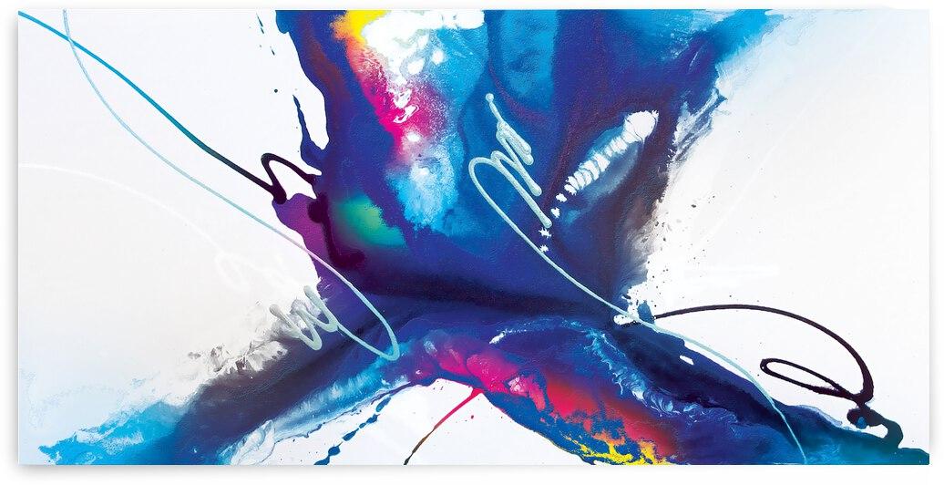Abstract Art Britto - QB258 by SIDINEI BRITO