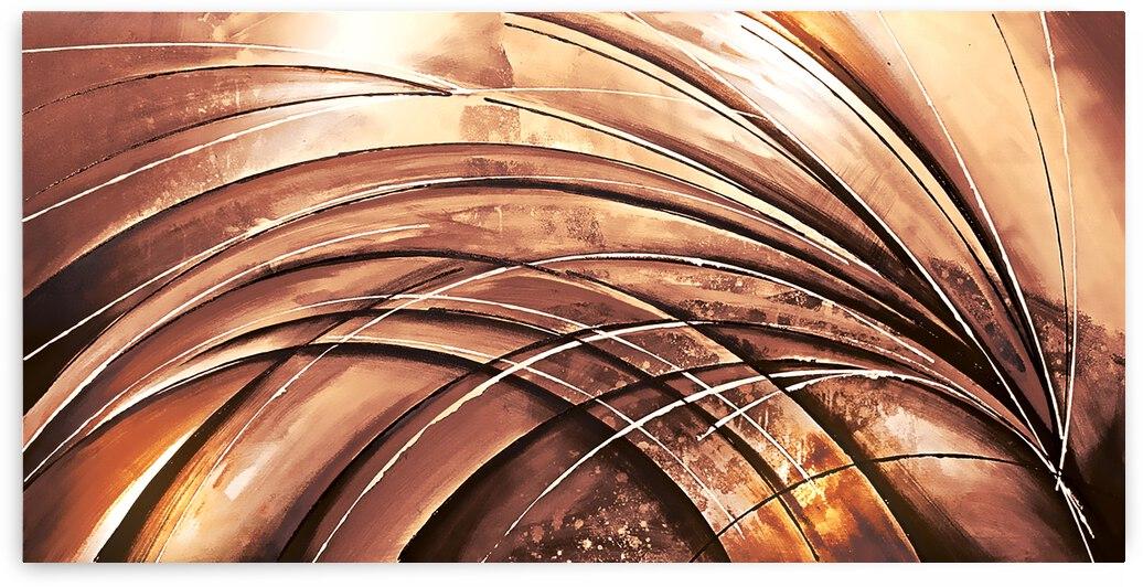 Abstract Art Britto - QB264 by SIDINEI BRITO