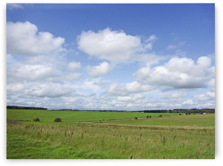 Salisbury Plain on the Road to Stonehenge by 1North