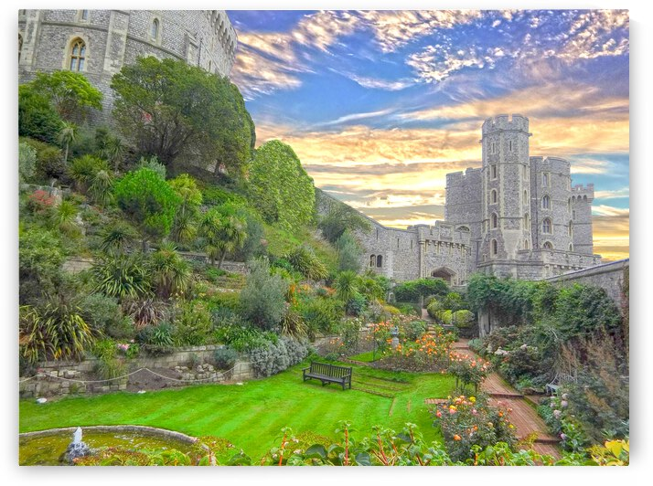 Windsor Castle England 1 of 2 by 24