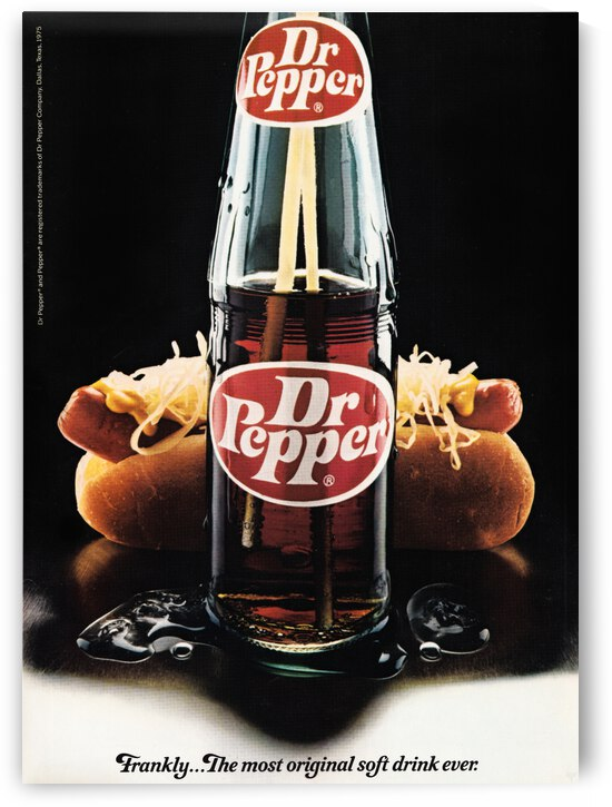 1981 Dr. Pepper Ad by Row One Brand