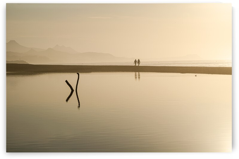 Sepia sunrise by Luisa Torre