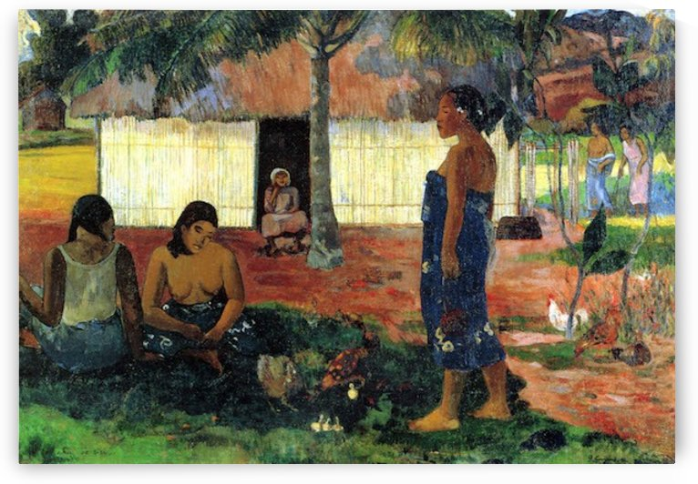 Whya are you Angry by Gauguin by Gauguin