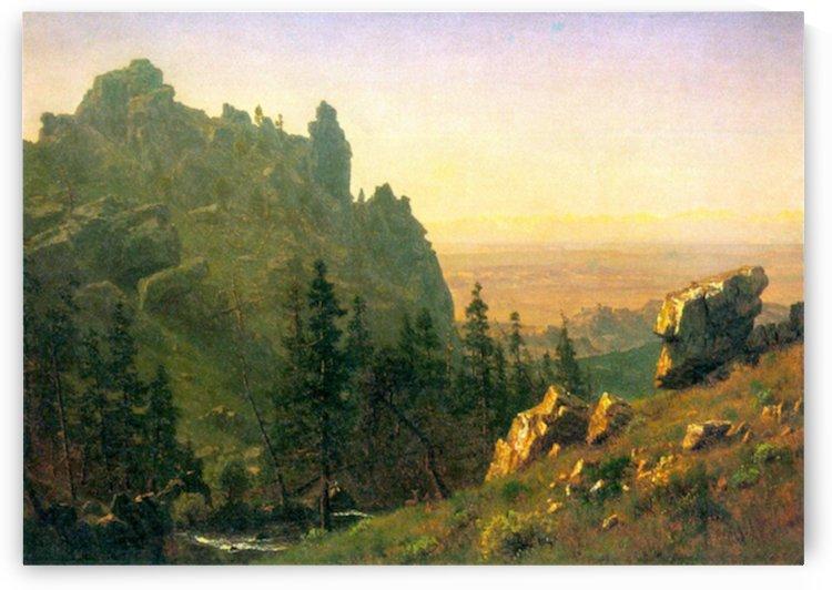 Wind River Country by Bierstadt by Bierstadt