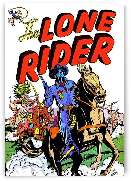 Lone Rider 01_OSG by One Simple Gallery