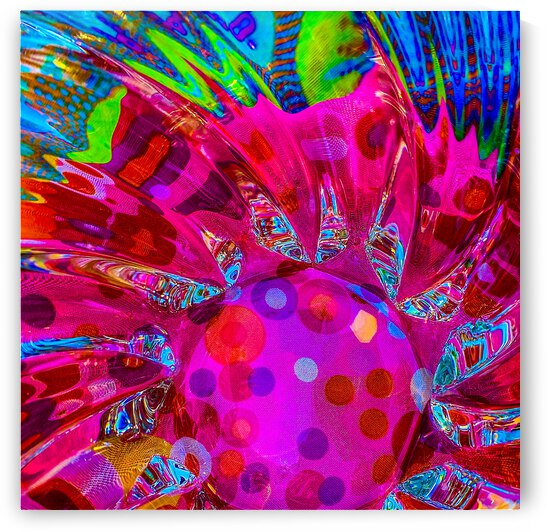 PINK LIGHT CATCHER by Lisa Joy Newcomb