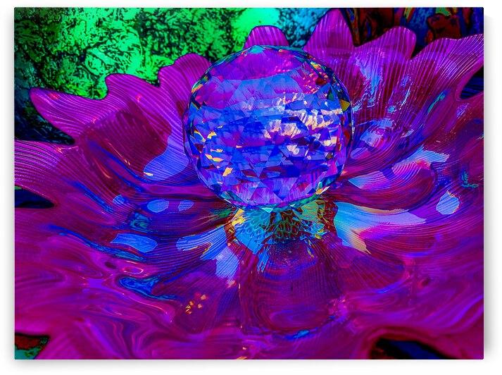 PURPLE GLOW by Lisa Joy Newcomb