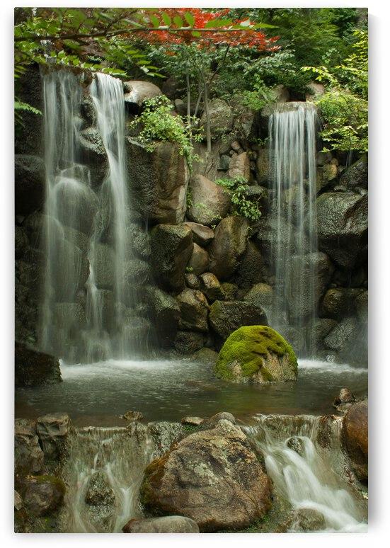 Japanese Waterfalls by Ashley ML Studios