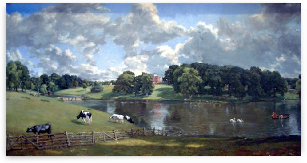 Wivenhoe Park by Constable by Constable