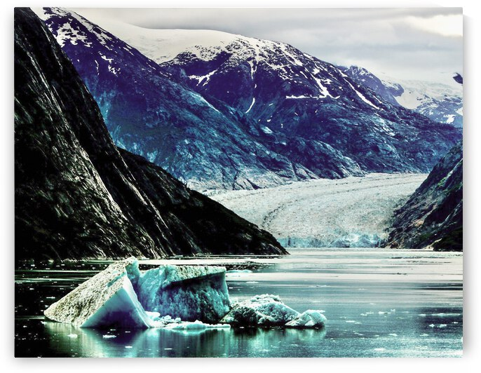 Alaskan Waters  by Michael Stephen Dikovitsky