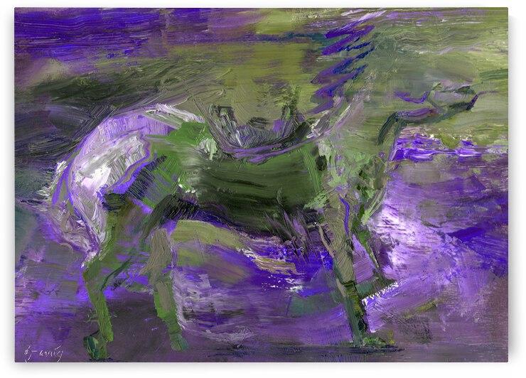 Ghost Rider - Violet by Daryl Urig