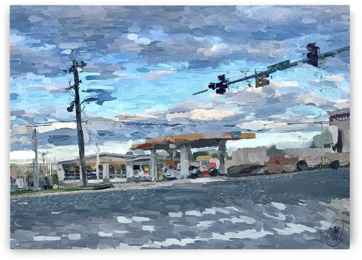 The Shell Station by Sarah Butcher