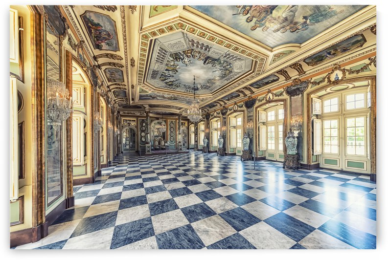 Palacio Real de Queluz by Manjik Pictures