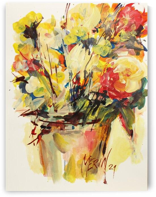Wildflowers in a vase 1 by Artstudio Merin
