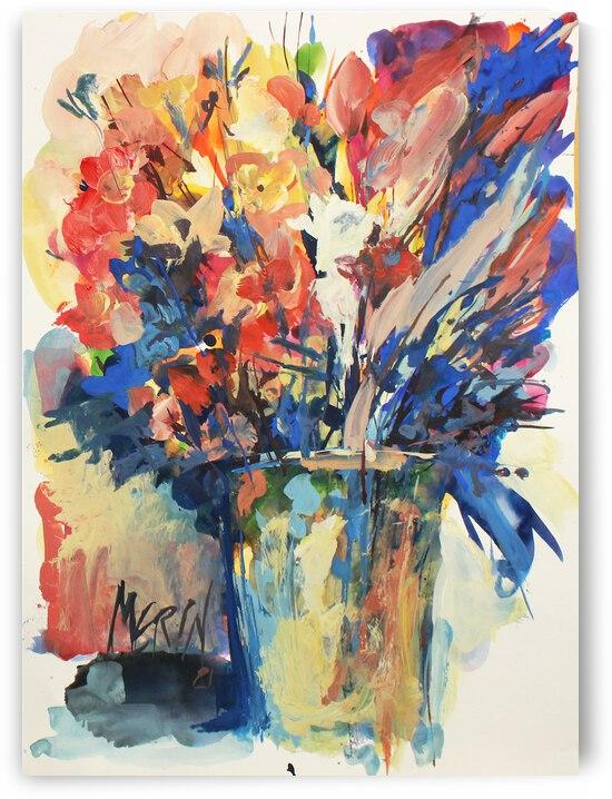 Wildflowers in a vase 2 by Artstudio Merin