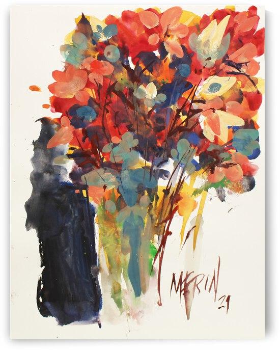Wildflowers in a vase 4 by Artstudio Merin