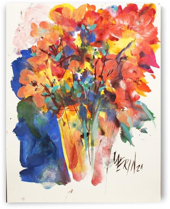 Wildflowers in a vase 5 by Artstudio Merin