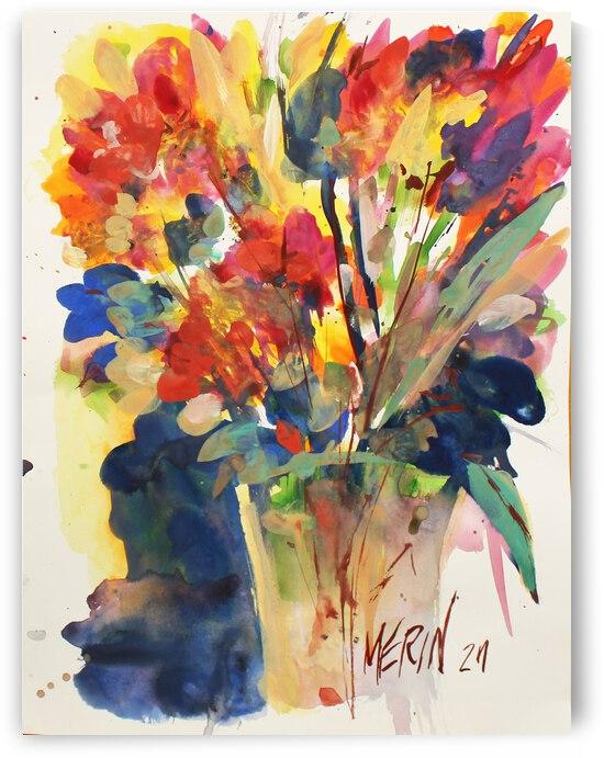 Wildflowers in a vase 6 by Artstudio Merin