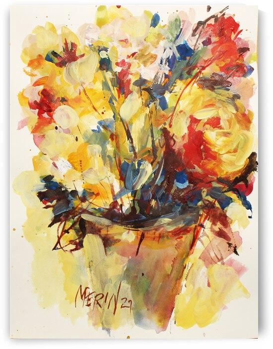 Wildflowers in a vase 9 by Artstudio Merin