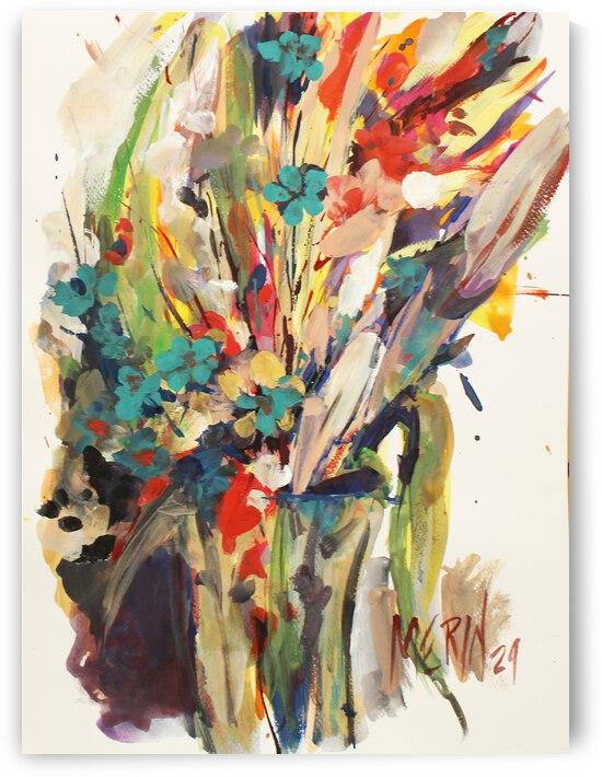 Wildflowers in a vase 10 by Artstudio Merin
