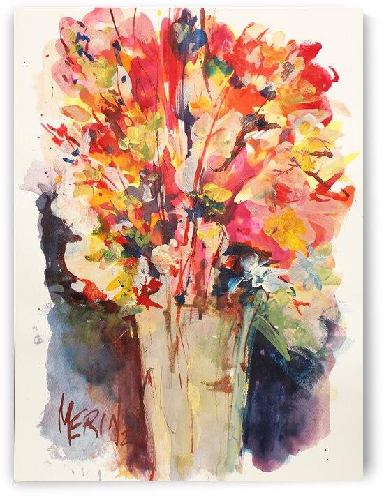 Wildflowers in a vase 12 by Artstudio Merin